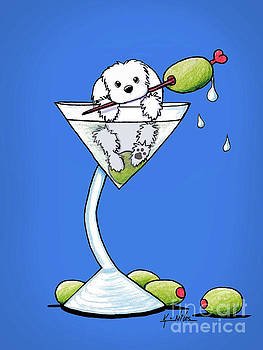 Maltese Martini by Kim Niles