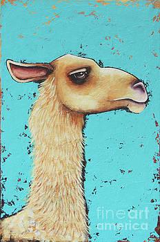 Mama Llama by Lucia Stewart