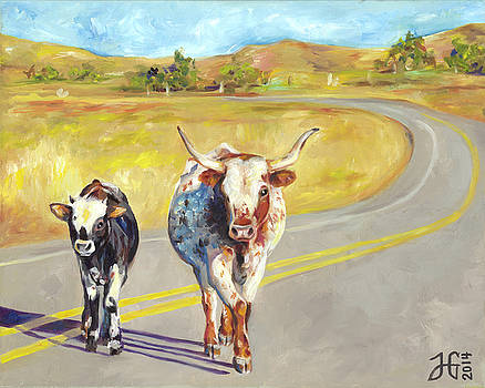 Mama Longhorn by Heather Griffin