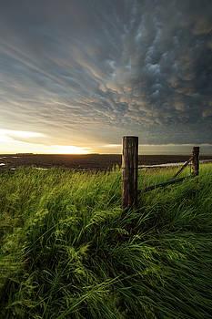 Mammatus Sunset by Aaron J Groen