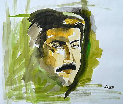 Mammooty - A Portrait by Abin Raj