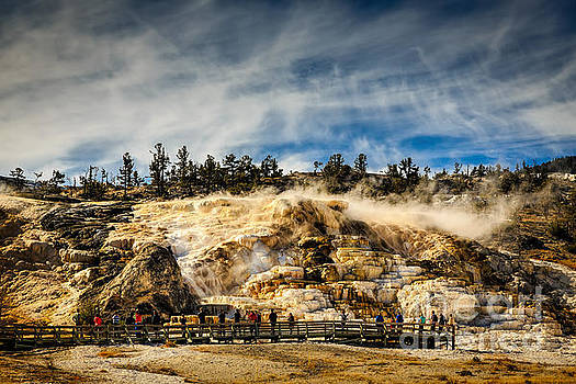 Jon Burch Photography - Mammoth Hot Springs