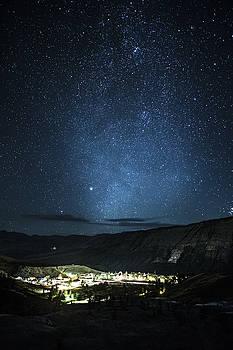 Mammoth Milky Way by Cynthia Bruner
