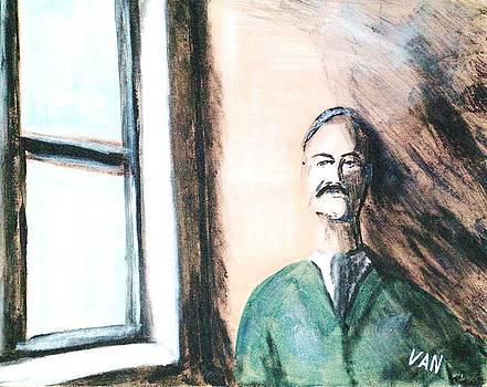 Man By The Window by Van Winslow