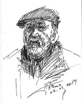 Man in a Hat by Ylli Haruni