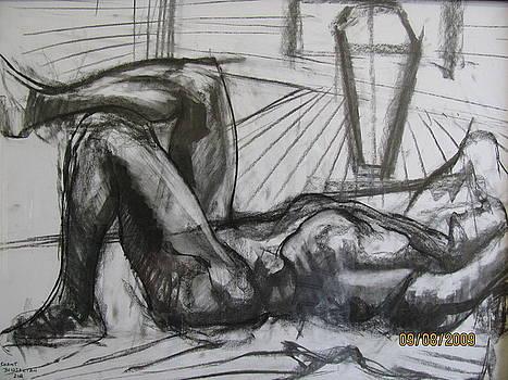 Man in a reclining Pose by Shant Beudjekian