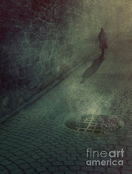 Man in the night by Mythja Photography