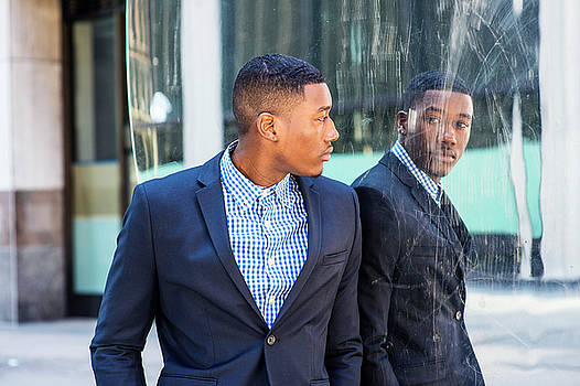 Alexander Image - Man Looking at Mirror