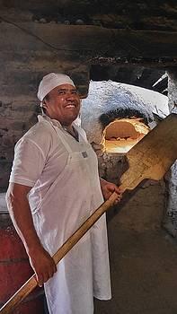 Man Making Bread by Steffani Cameron
