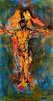 Man on a Cross by Paul Freidin
