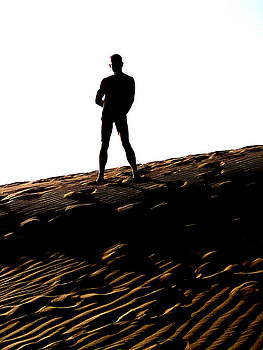 Man on the Dunes by Peter J Robinson Jr