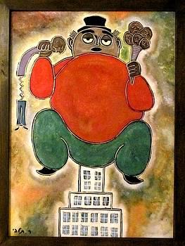 Man Sitting by Rafi Talby
