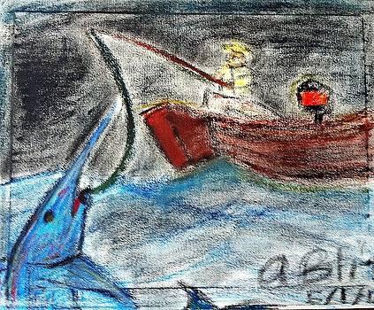 Man vs. Marlin by Andrew Blitman