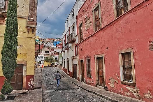 Man Walking in Guanajuato by Steffani Cameron