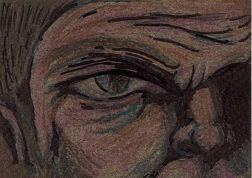 Man with an Angry Eye by Joseph Bradley