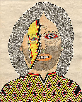 Man with Lightning Eye by Matt Leines
