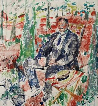Wouters Rik - Man With Straw Hat 1913