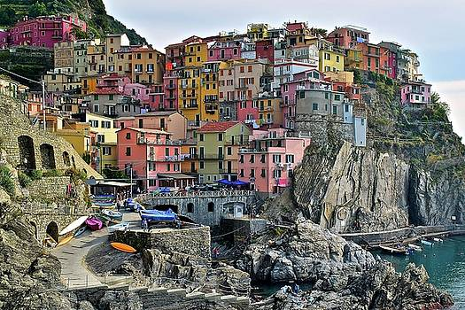 Manarola Cinque Terre Italy by Frozen in Time Fine Art Photography