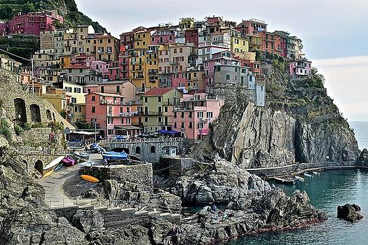 Manarola Version two by Frozen in Time Fine Art Photography