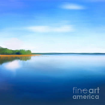 Manasquan Reservoir by Catia Lee
