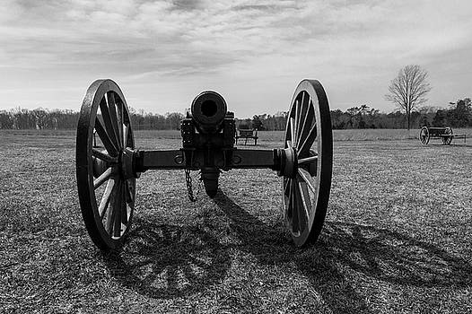 Manassas Cannon and Caisson by John Daly