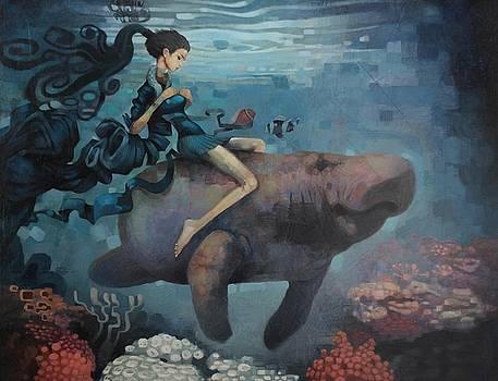Manatee Girl by Adam Strange