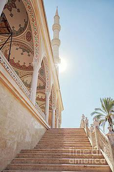Sophie McAulay - Manavgat mosque steps
