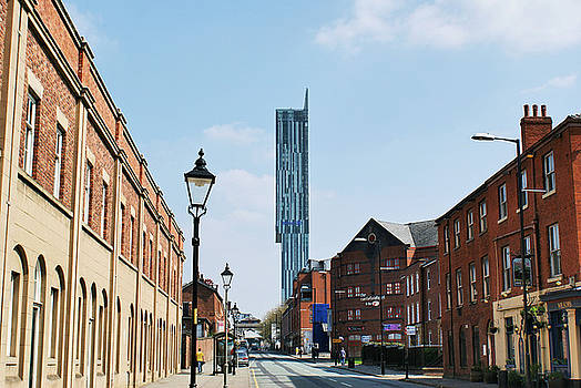 Manchester - Beetham Tower by Hristo Hristov