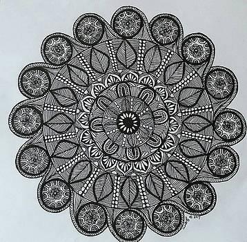 Mandal 6 by Usha Rai