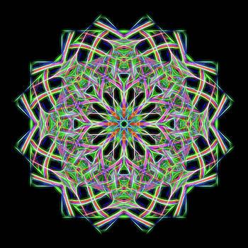 Mandala #1 by Georgette Grossman