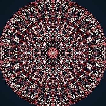 Mandala 1 by Ronda Broatch