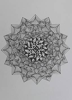 Mandala 11 by Jesus Nicolas Castanon