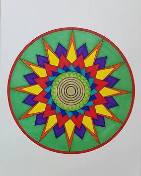 Mandala 13 by Jesus Nicolas Castanon
