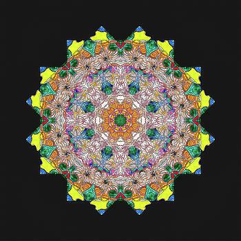 Mandala #2 by Georgette Grossman