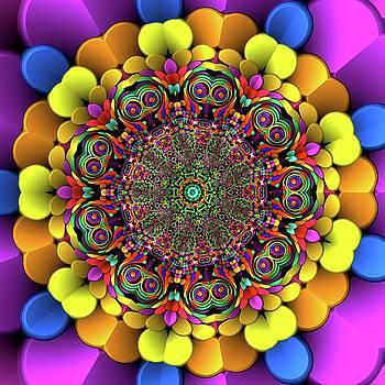 Mandala 46756767856 by Robert Thalmeier