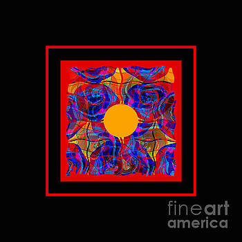 Mandala #5 by Loko Suederdiek