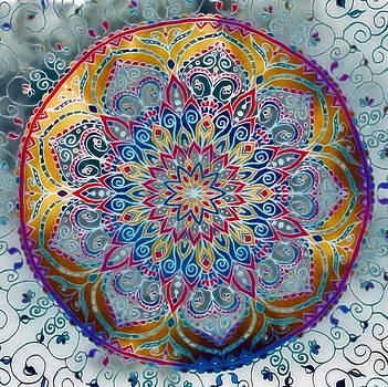 Mandala Abstract by Gabriella Weninger - David