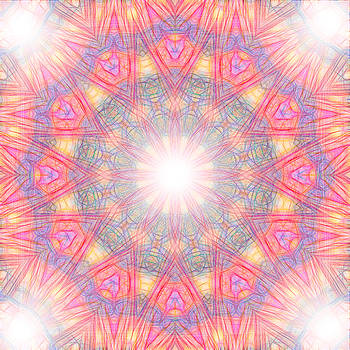 Mandala - Cathedral 2 by Lila Violet