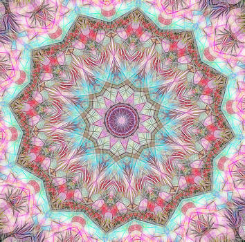 Mandala - Cathedral by Lila Violet