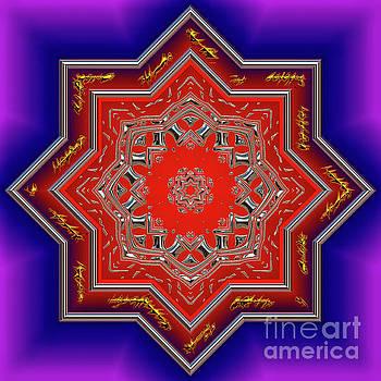 Mandala for Peace by Anna Sheradon