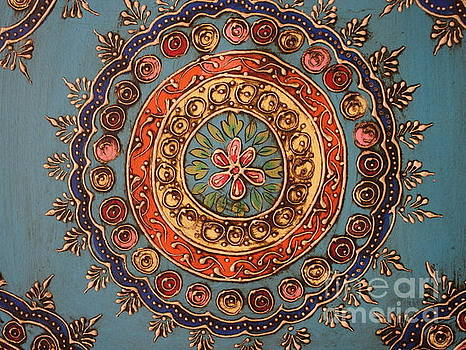Mandala from India by Dora Sofia Caputo Photographic Art and Design