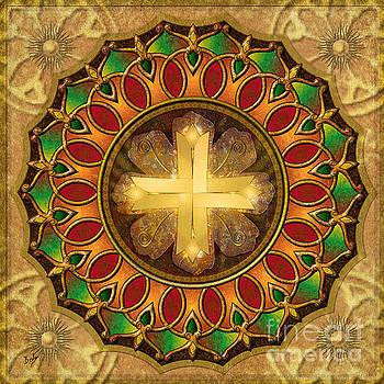 Bedros Awak - Mandala Illuminated Cross