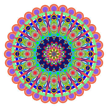 Mandala by Isabel Salvador