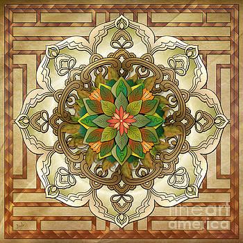 Bedros Awak - Mandala Leaf Rosette V2