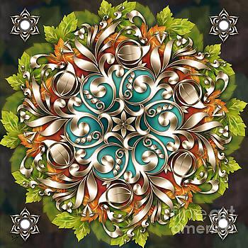 Bedros Awak - Mandala Metallic Ornament