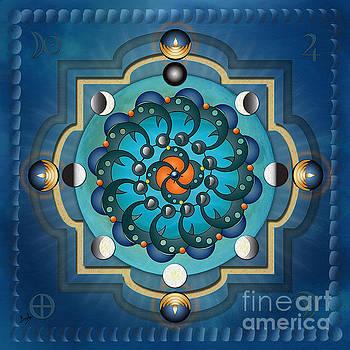 Bedros Awak - Mandala Moon Phases