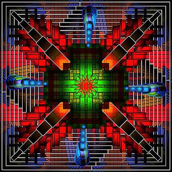 Mandala Reflections by Mario Carini