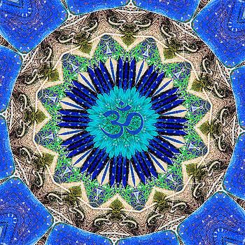 Mandala - Shambhala by Lila Violet