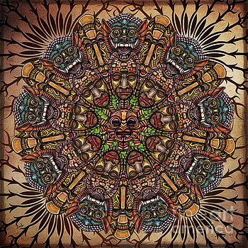 Bedros Awak - Mandala Tribal Masks