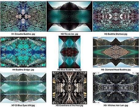 Mandalas contact sheet by Kevin  Gerien
